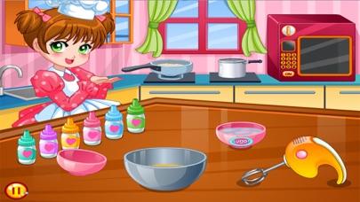 العاب طبخ سارة - طبخ الحلويات الشهيةلقطة شاشة4