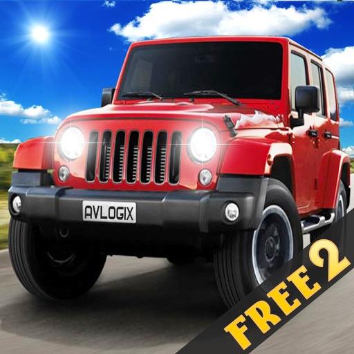Extreme Hummer Jeep Mountain Drive Simulator 2 iOS App