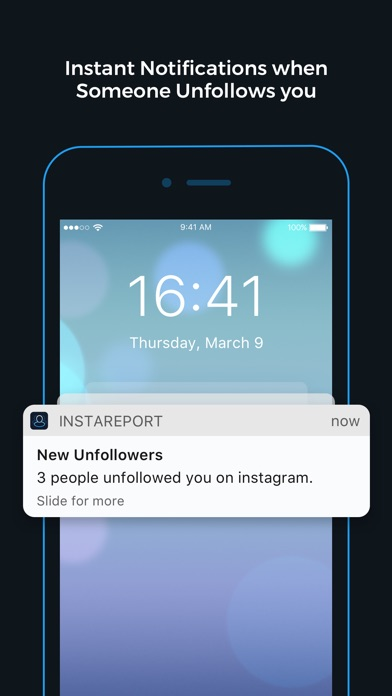 Screenshots of Followers Analytics for Instagram - InstaReport for iPhone