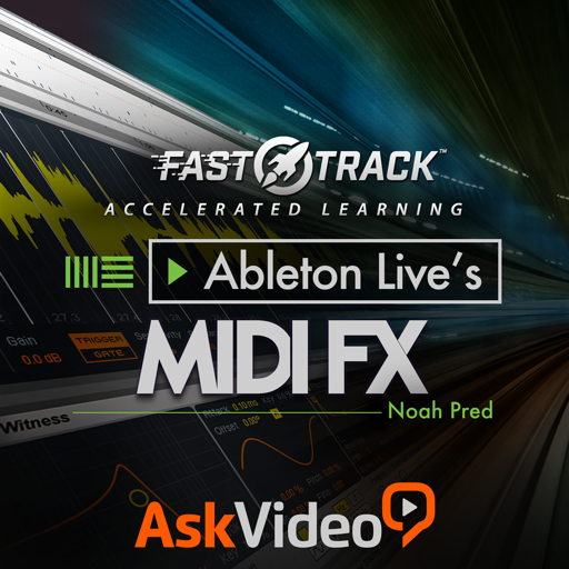 FastTrack™ For Ableton Live MIDI FX for Mac