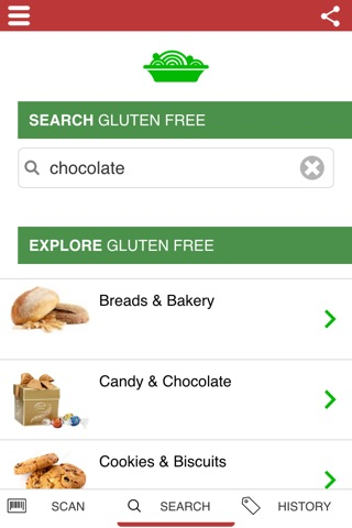The Gluten Free Scanner FULL - Barcode Scanner screenshot 1