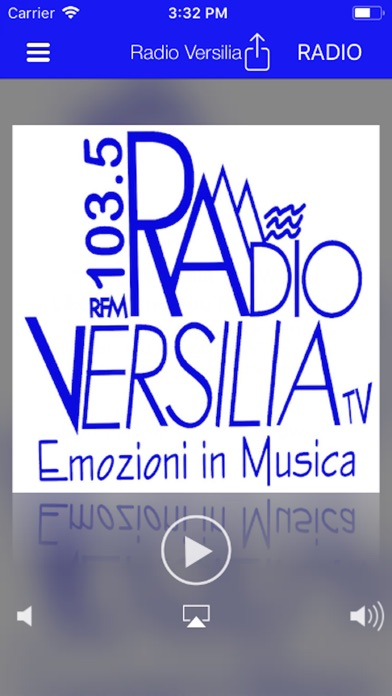 Screenshot of RADIO VERSILIA TV 103.51