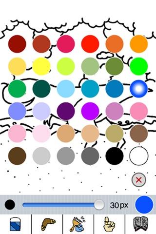 Dino Coloring for iPhone screenshot 2