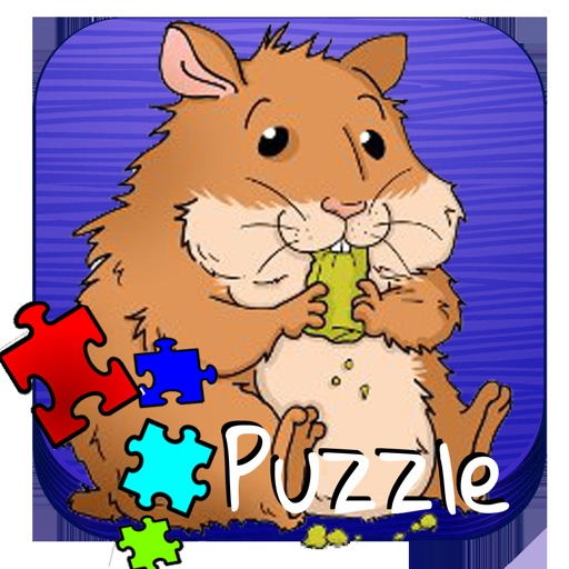 Puzzle Animal Tom - Mouse  for Toddlers and Kids iOS App