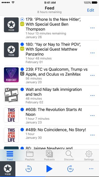 HardCast - Podcast Player Screenshot