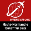 Haute Normandie Tourist Guide + Offline Map