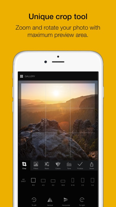 Lumibee - photo editor with raw & picture filters Screenshots