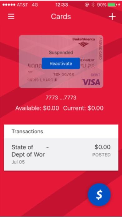 BofA Prepaid Mobile screenshot 3