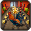 Farm Rooster Run: Animal Escape Endless Game