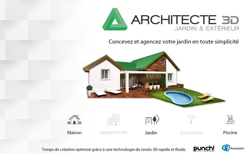 Architecte 3d jardin et ext rieur 2017 par avanquest north for Jardin 3d mac