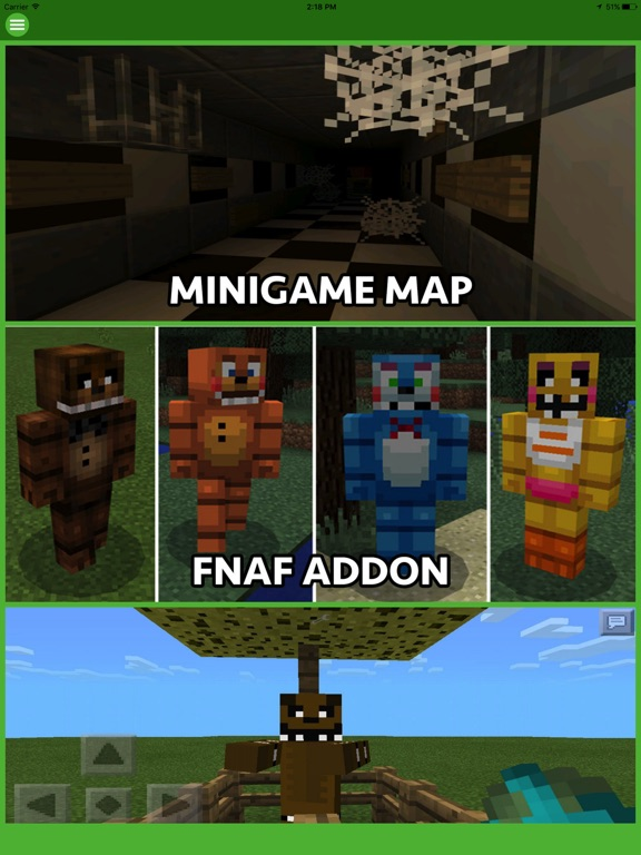 FNAF ADDONS FOR MINECRAFT POCKET EDITION (PE) by Hoai Trinh Thi Le