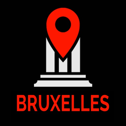 Brussels Travel Guide Monument Tracker Offline Map iOS App