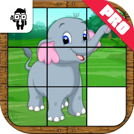 Animal Slide Puzzle Kids Game Pro iOS App