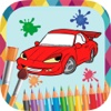Cars to paint - coloring book to draw vehicles