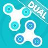 Fidget Spinner Dual - Virtual Finger Focus Toy