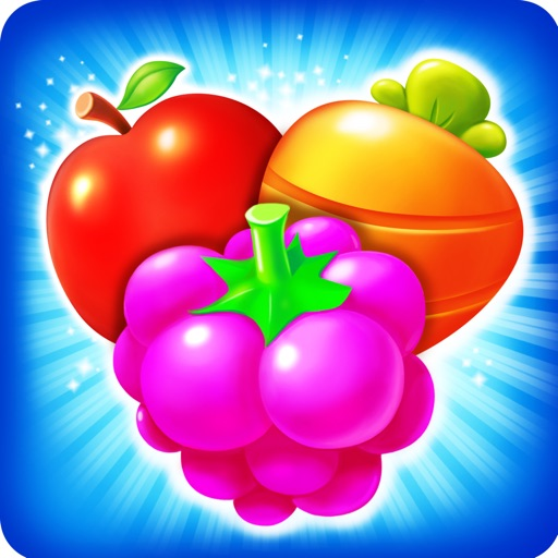 Fruit Paradise-Free Match 3 Puzzle iOS App