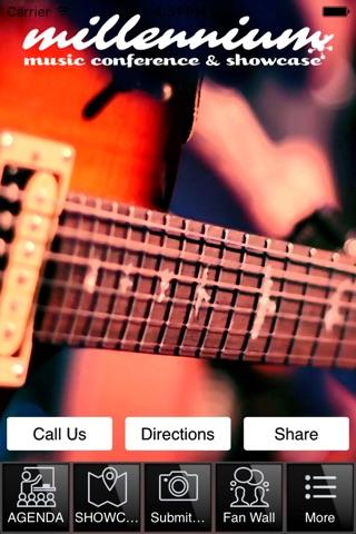 Millennium Music Conference screenshot 1