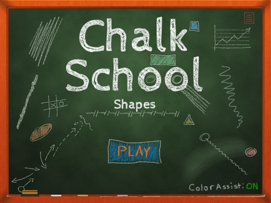 Chalk School: Shapes - Learn & Recognize Screenshot