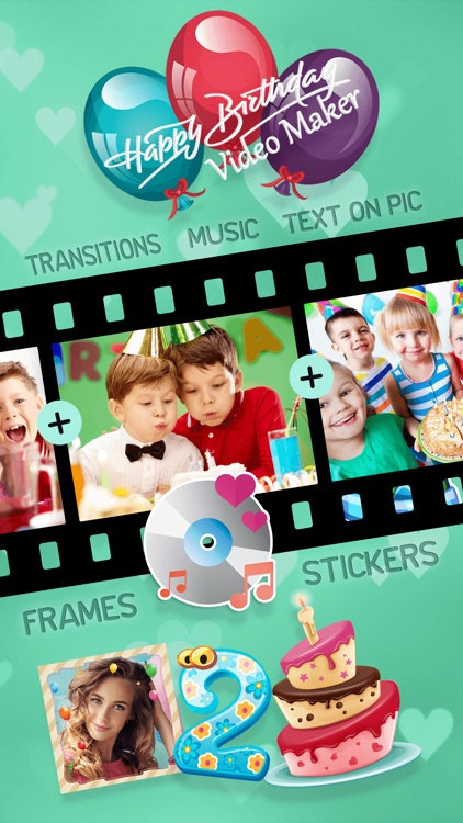 Happy Birthday Video Maker With Music Photos By Vesna Milicevic