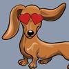 Hare Squared, LLC - Weinermoji - Dachshund Emoji & Stickers  artwork