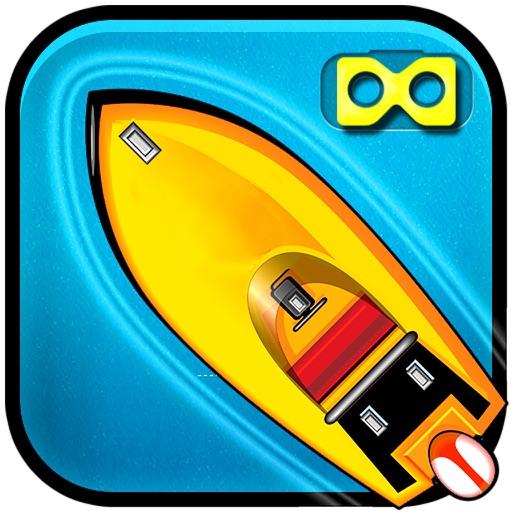 VR Sea Power Boat Rider : Real Cruise End-Less Sim iOS App