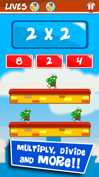 Monster Numbers: Math learning and Times Tables Screenshots