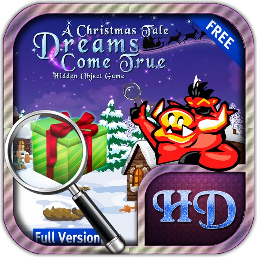 Christmas Tales Dreams Come True Hidden Objects iOS App