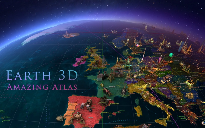 Earth 3D - Amazing Atlas