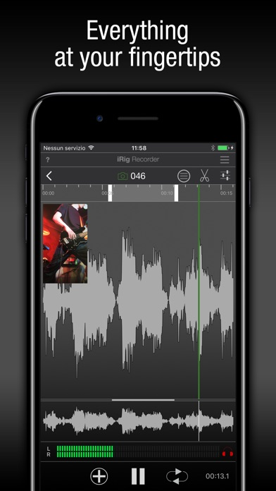 iRig Recorder Screenshot on iOS