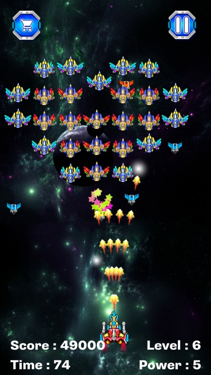 Galaxy Attack Alien Shooter by tinh nguyen