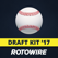 RotoWire Fantasy Baseball Draft Kit 2017