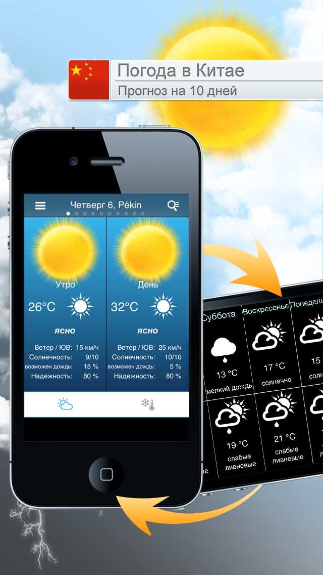 Погода для КитаяСкриншоты 1