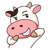 Perky Cow Animated Stickers Wiki