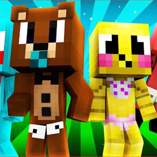 BABY SKINS - FNAF SKIN Free for Minecraft Game PE iOS App