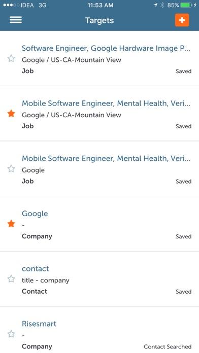 Screenshot of RiseSmart: Job Search and career transition3