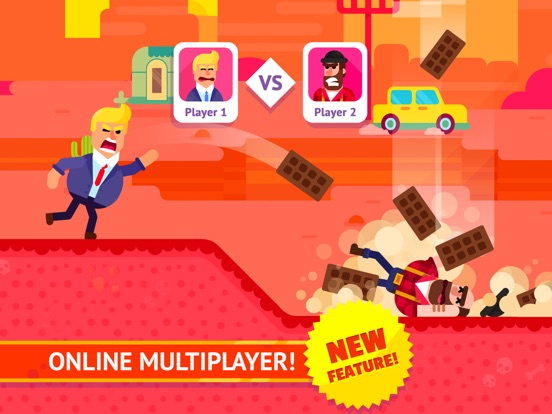 Bowmasters (Ad Free) - Top Multiplayer Bowman Game на iPad