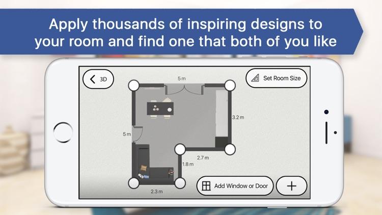3d Bedroom For Ikea Room Interior Design Planner Screenshot 3