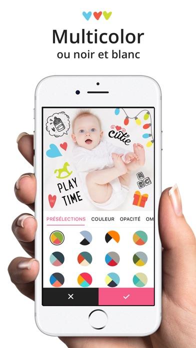Screenshot Lil Pics : Éditeur de photos de bébé & grossesse