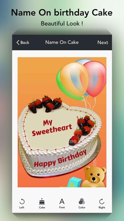 Name On Cake Birthday Cakes By Mukesh Patel