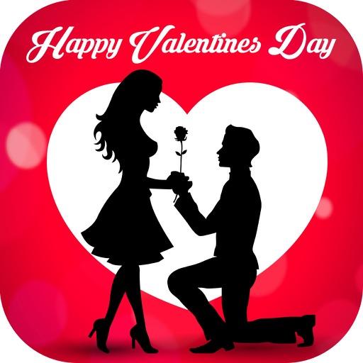 Valentine Day Greetings Card - Valentine Day 2017 iOS App