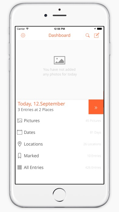 Log My Day - Neue Version Screenshot