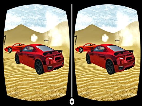 VR Desert Drifting Speedy Car Race screenshot 4