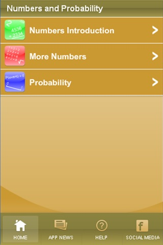 Numbers and Probability screenshot 1