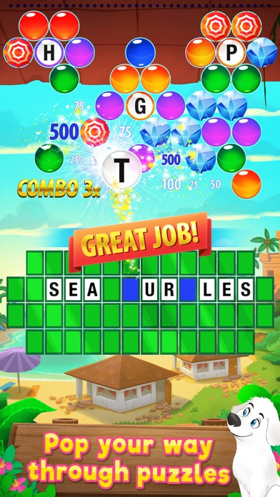 Wheel of Fortune PUZZLE POP Screenshot