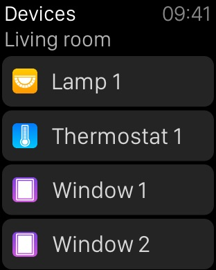 Devices - Home Steuerung für HomeKit und IFTTT Screenshot