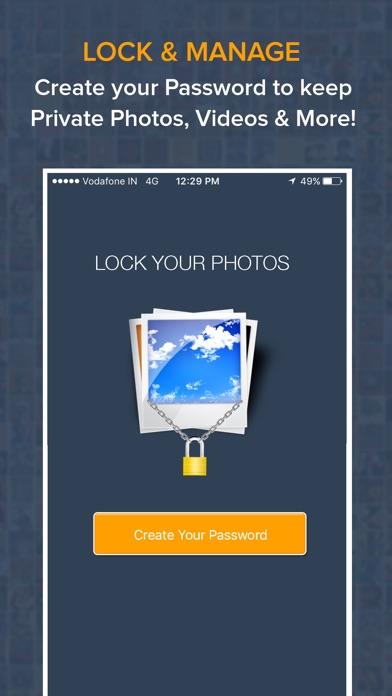 Screenshot of Foto e Video Locker - Nascondi immagini1