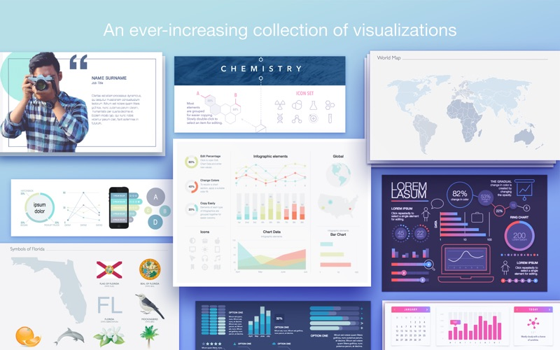 Infographics – PPT Templates for Mac 1.1.3 破解版 – PPT模板-爱情守望者