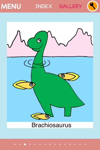 Dino Coloring for iPhone screenshot 4