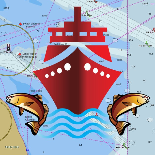 IBoating Nautical Marine Charts Fishing Maps On The App Store - Boat accessibility map us