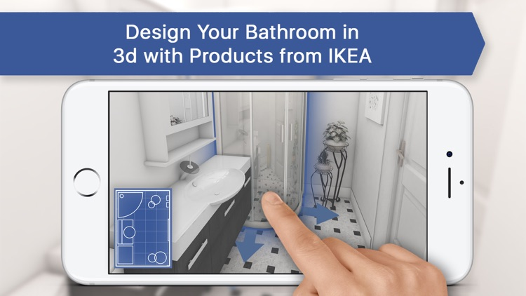 3d Bathroom Room Plan Interior Design By Oleksandr Rysenko